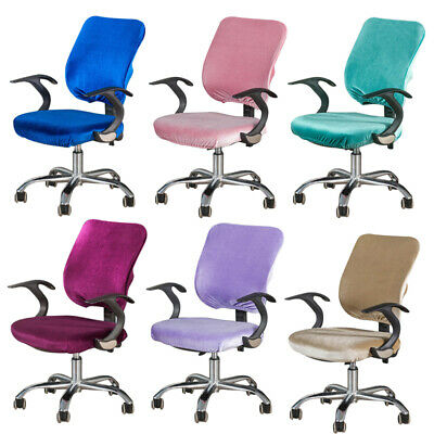 AU16.03 • Buy Office Chair Cover Computer Chair Slipcover Plush Soft Chair Protector