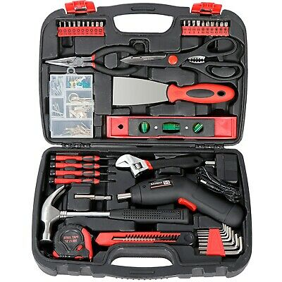 View Details SAVWAY Household Power Tool Rechargeable Cordless Electric Screwdriver Drill Kit • 31.31$