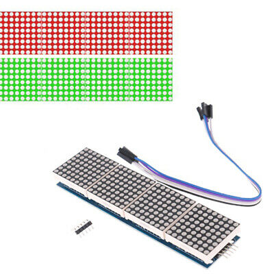 MAX7219 Dot Matrix Module Microcontroller 4 In One Display With 5P L JE • 6.60£