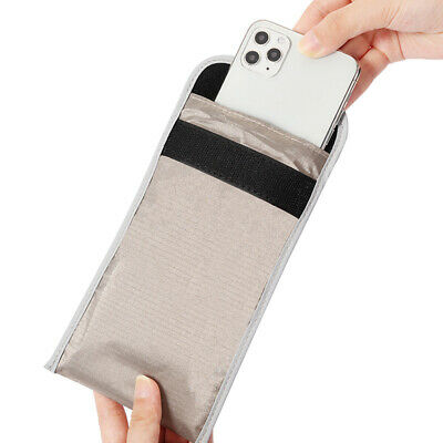 Cell Phone Pouch Protection Anti Radiation Case RF Shielding Signal Weakened New • 3.40£