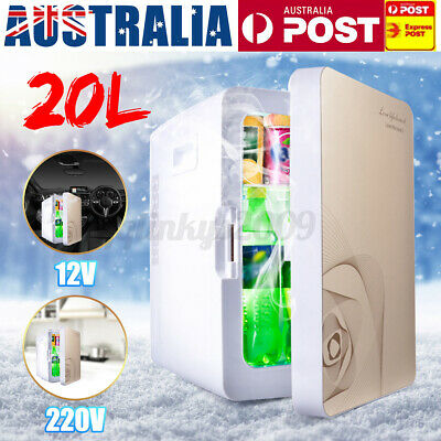 AU105.99 • Buy 20L Protable Refrigerator Fridge Cooler Freezer Warmer Camping Bar Car Truck Hom