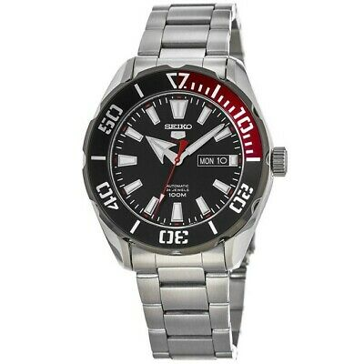 $ CDN208.78 • Buy New Seiko 5 Automatic Black Dial Stainless Steel Men's Watch SRPC57K1