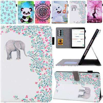 AU17.38 • Buy For Samsung Galaxy Tab A S5e S6 Lite S7 Case PU Leather Shockproof Stand Cover