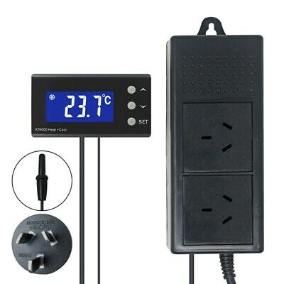 AU48.44 • Buy Digital Temperature Controller LCD 240V Thermostat Home Brewing