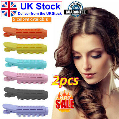 2pcs Volumizing Hair Root Clip Curler Roller Wave Fluffy Clip Styling Tool UK • 3.72£