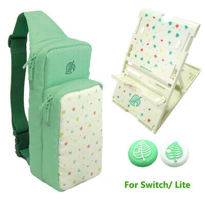 Animal Crossing Carrying Case For Nintendo Switch / Lite Storage Shoulder Bag UK • 16.59£