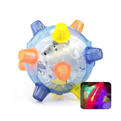 £4.99 • Buy Pet Dog Cat Chew Electric Toys Jumping Activation Ball Electric Dancing Light