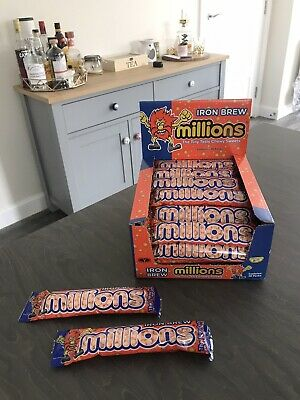 £1.40 • Buy MILLIONS IRON BREW SWEETS / 2 X 40g PACK | LIMITED EDITION