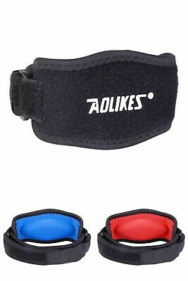 Tennis Elbow Support Gym Brace Golfers Strap Epicondylitis Band Clasp Arthritis • 3.49£