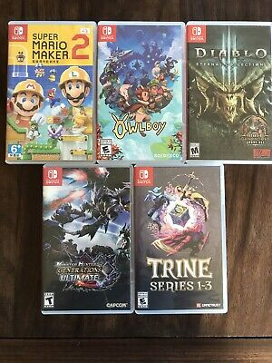 $ CDN200 • Buy Switch Games [individual Prices In Description]