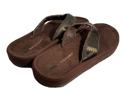 Mens Rockport Sandals (Size 12/Brown) Free Shipping • 22.96£
