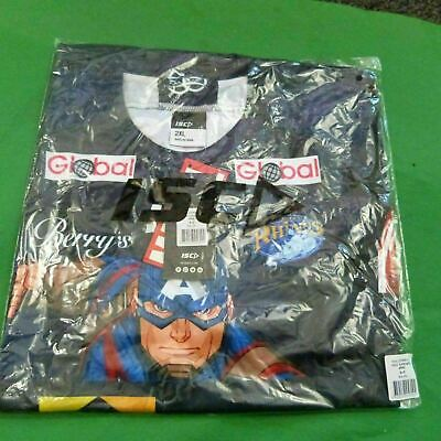 Leeds Rhinos Captain America 2018 Rugby League Magic Weekend Shirt 4XL • 45£