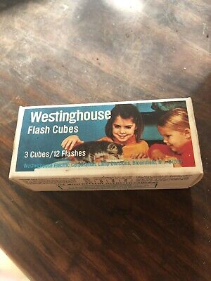 $3 • Buy Vintage Flash Cubes Westinghouse