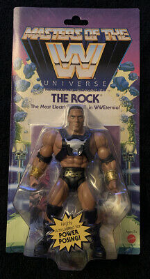 $25 • Buy Masters Of The WWE Universe The Rock Action Figure  Exclusive New
