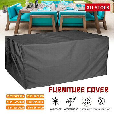 AU29.50 • Buy Waterproof Outdoor Furniture Cover Yard UV Garden Table Chair Shelter Protector