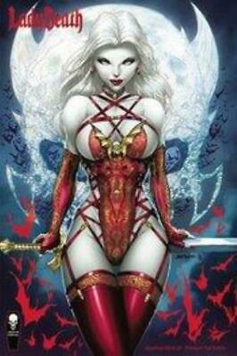 LADY DEATH SCORCHED EARTH #2 (OF 2), TYNDALL FOIL COVER, Coffin Comics (2020) • 19.99£