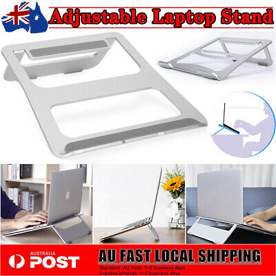 AU17.98 • Buy Portable Aluminium Alloy Laptop Stand Tray Holder Riser For MacBook Notebook PC
