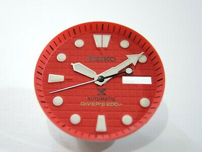 $ CDN60.15 • Buy New Replacement Seiko Prospex Red Waffle Dial Set Will Fit Skx007-009 Diver's