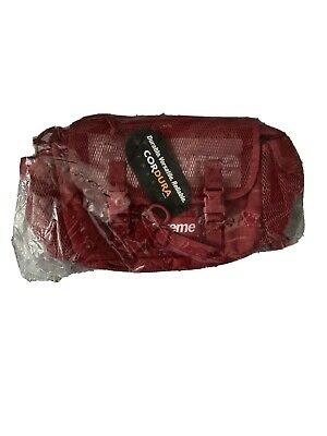 $ CDN230 • Buy Supreme Waist Bag Dark Red, Ss20 Brand New