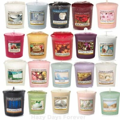 Yankee Candle Home Scented Votive Sampler 49g Buy 3, Get 20% Off (3 For £9) • 3.75£