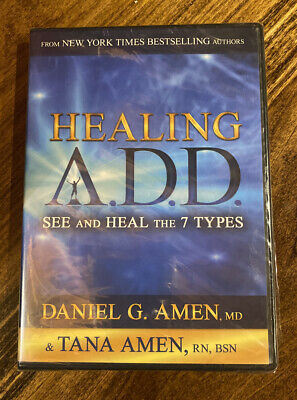Healing A.D.D. See And Heal The 7 Types: Daniel & Tana Amen (DVD 2014) BRAND NEW • 6.51£