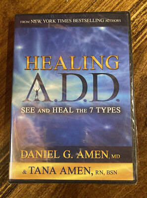 Healing A.D.D. See And Heal The 7 Types: Daniel & Tana Amen (DVD 2014) BRAND NEW • 6.43£