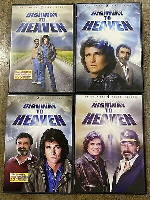 £13.04 • Buy Highway To Heaven Complete Season 1, 2, 3, And 4 DVDS