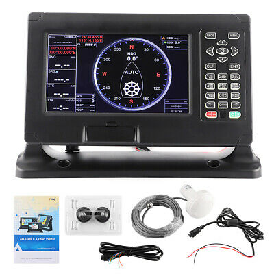 8in Marine BDS/GPS Navigator LCD Display Chart Plotter Support For XINUO C‑Map • 458.64£