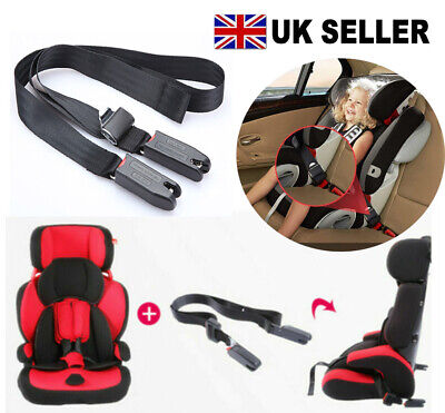 Children Car Seat ISOFIX Latch Connector Safe Fixed General Straps Belt Latch • 10.99£