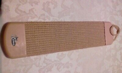 Cleo Cat Scratching Post, Beige, Approx 20in Long With Hanging Rope • 8£