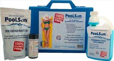 Large PoolSan Non-Chlorine Chemical Maintenance Kit For Above-ground Pools • 49.90£
