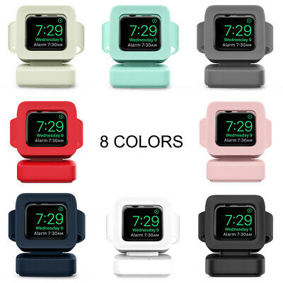 $ CDN16.13 • Buy 1PC Watch Silicone Charging Stand Dock For Apple IWatch Series 5/4/3/2/1