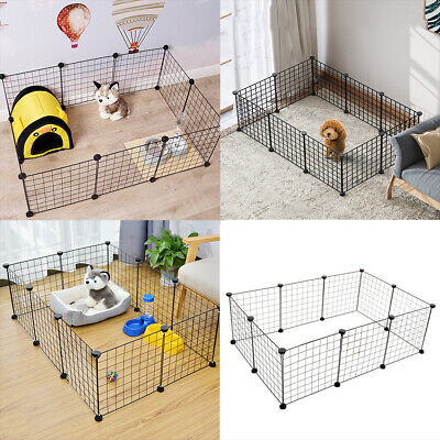 £21.95 • Buy 10 Panel Foldable Pet Play Pen Puppy Dog Animal Cage Run Fence Exercise Playpen
