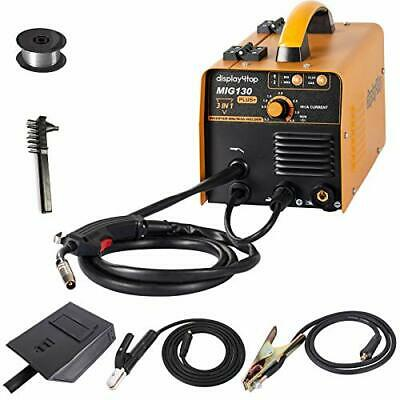 Display4top Mig-130Plus+ 3-in-1 Mig/Mag Gas &No Gas/MMA Welding Machine 220V • 133.11£