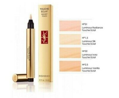 YSL Touche Eclat Radiant Touch Concealer 02 Luminous Ivory New Box • 15.99£