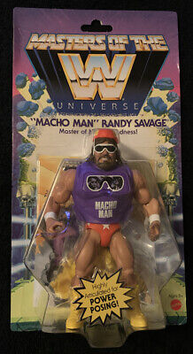 $22 • Buy Masters Of The WWE Universe MACHO MAN Randy Savage Action Figure NEW