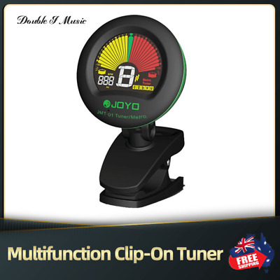 AU14.59 • Buy JOYO Multifunction LCD Clip-On Tuner For Guitar Bass Violin Ukulele Chromatic