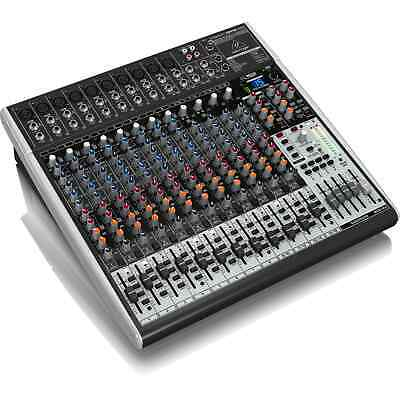 Behringer Xenyx X2442USB 24 Channel Mixer With USB Audio Interface • 289£