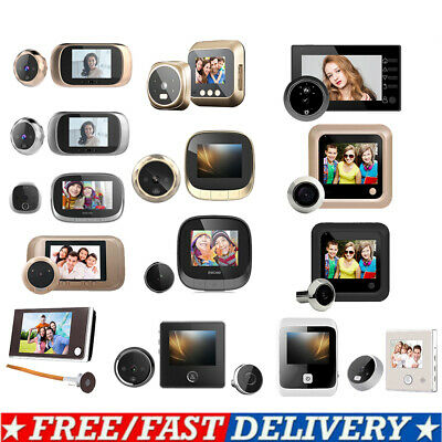 2.4 LCD Digital Peephole Viewer Door Eye Doorbell HD Night Vision Camera Monitor • 22.15£