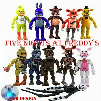 AU22.99 • Buy AU Stock 2020 Fnaf Five Nights At Freddy's 6  Action Figures With LED Light Toys