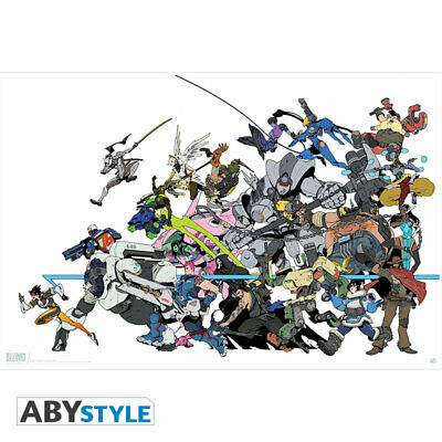 AU19.08 • Buy Overwatch - All Characters - Poster Maxi Poster