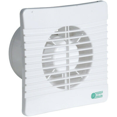 £18.39 • Buy Bathroom Extractor Fan With Timer & Shutters Slimline Low Profile Airvent 431302