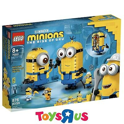 AU79.10 • Buy LEGO 75551 Minions Brick-built Minions And Their Lair (BRAND NEW SEALED)