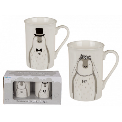 £7.99 • Buy New Bone China Set Of 2 Afternoon Tea Style Mugs Cups Kitchen Home Office Coffee