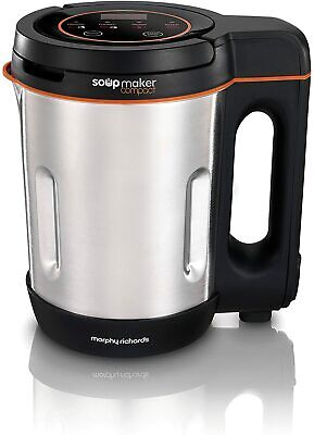 Morphy Richards Compact Soup Maker 501021 Stainless Steel 1 Litre, 900 W  • 42.46£