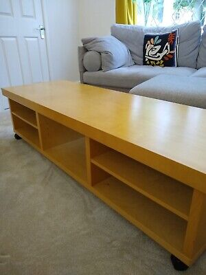 £60 • Buy Big Solid Coffee Table Or TV Stand (with Removable Wheels)