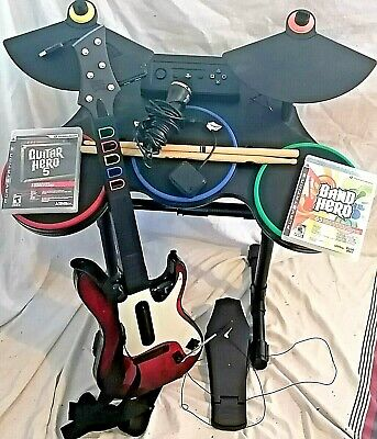 $ CDN325 • Buy PS3 Guitar Hero 5 Band Drums Red Octane Guitar Dongle PEDAL