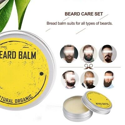 Organic Beard Conditioner Balm Moustache Wax For Beard Shaping Moisturizing • 4.89£