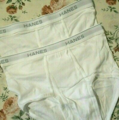 £6.99 • Buy Hanes White Value Briefs  Large  ( 2 Briefs  In Offer  ) Bargain  £6.99