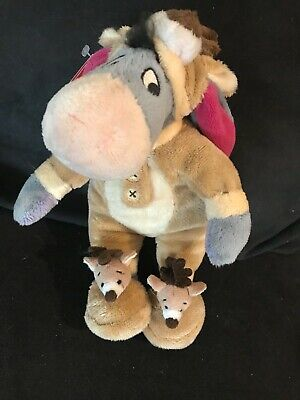 Disney Small PJ Pal Eeyore Soft Toy With Tags • 4£